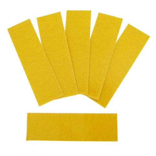 Interdens® Self Adhesive Hinge Pad Square Corners Pack of 6 (1mm)